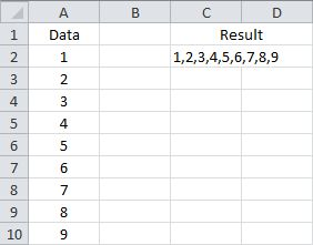 Concatenate Without a Criteria Using a Custom Function