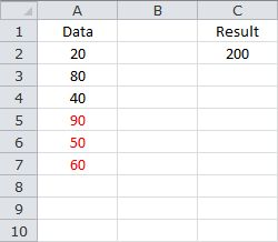 Sum of the Last 3 Values - Without Blank Cells in the Data